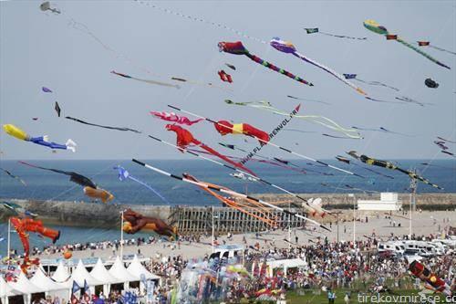 фестивал на змаеви во Франција