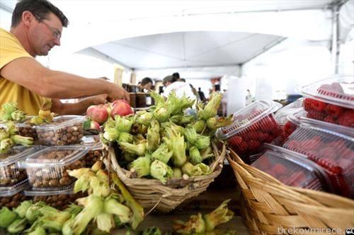 """Фестивалот на органска храна на плоштадот """"Македонија"""" во Скопје"""
