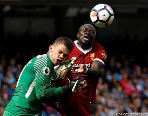 Како да се помни дербито, дали по тоа што Манчестер Сити го победи Ливерпул со 5 нула или по овој карате  дур на напаѓачот на Ливерпул