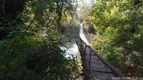 пешачки мост на вардар кај Рајко
