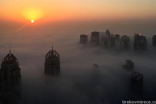 утро во Дубаи