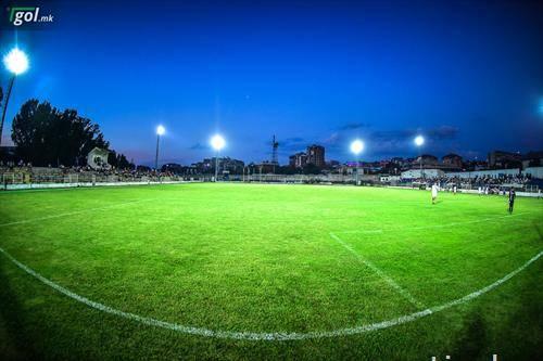 Борец дербито во Втората лига исток со Брегалница во Штип го играше под рефлектори
