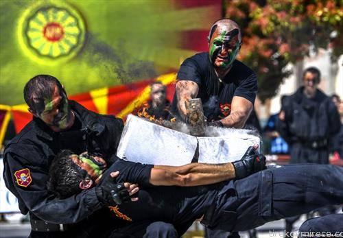 вежби на македонските војници