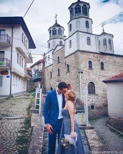 ракометниот репрезентативец Филип Талески се ожени, регистрацијата беше во родното Крушево