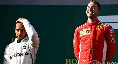 започна Ф1, на првата трка во австралија победи фетел