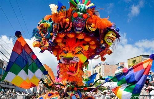 карневал во Колумбија