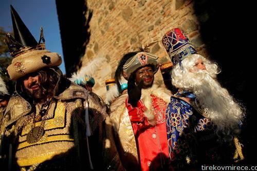 католичкиот празник на трите крала 5- јануари