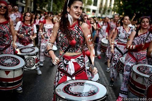 Парада на гордоставо Атина на 9-ти јуни