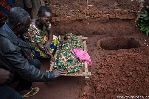 дете жртва на маларија во Конгона
