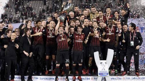 Милан го освои Италијанскито супер куп, во Доха