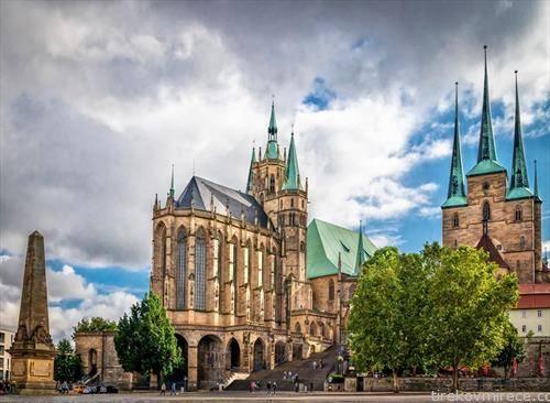 катедралата во ерфрут Германија