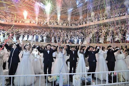 масовна венчавка во Сеул, јужна Кореја