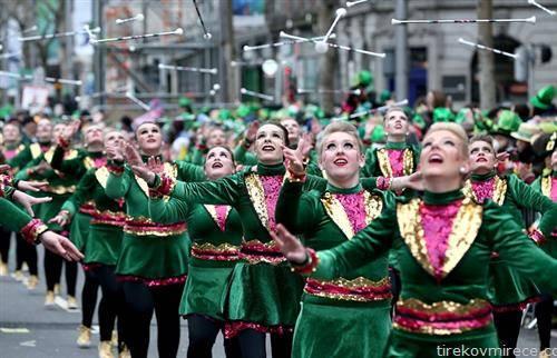 парада за ирскиот празник Св. Патрик во Даблин