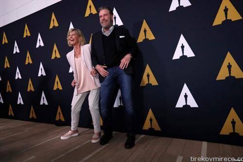 40 години подоцна Џон Траволта и Оливија Њутон Џон, ѕвездите на филмот брилијантин
