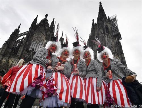 зимски карневал во Келн