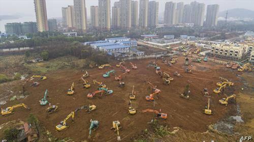 Кинезите градат болница која треба да биде готова за 5-ти февруари