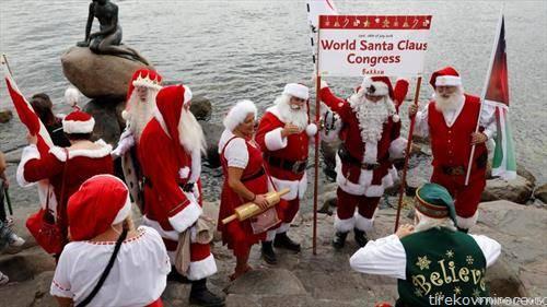Светски конгрес на Дедомразовците деновиве во Копенхаген
