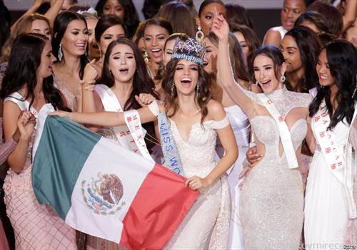 Мексиканката  ванеса понче е мис на светот, најубава девојка на планетата