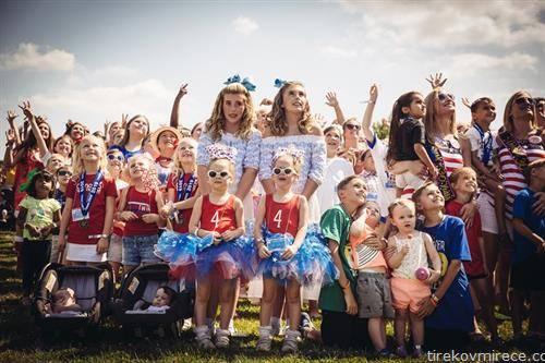 годишна средба на близнаци во Охајо САД