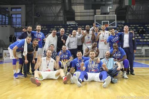 левски од софија е победник на кошаркарската Библ лига