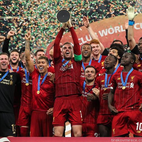 фудбалерите на Ливерпул се клупски светски прваци