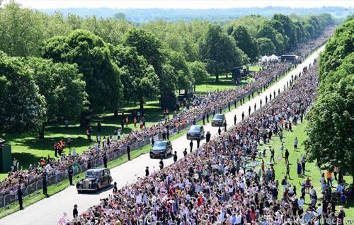 илјадници гости на кралската венчавка