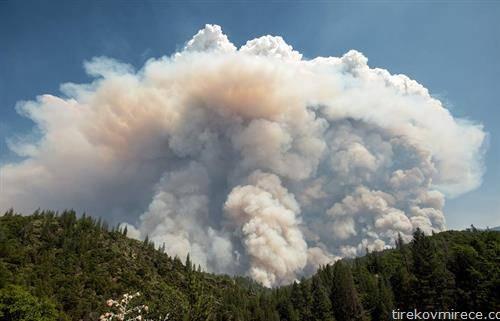 пожари во Калифорнија