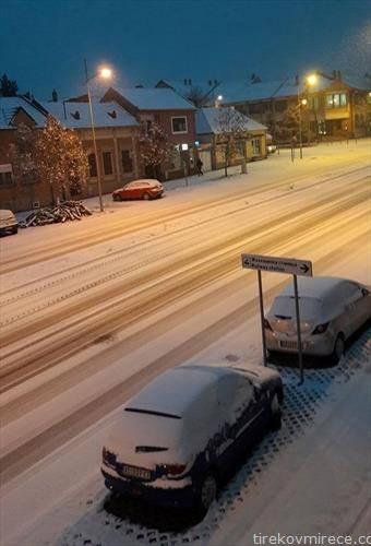 снег во Вршац