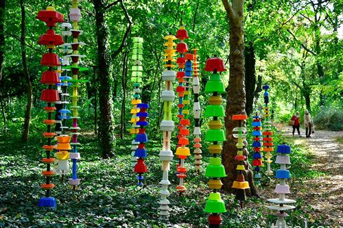 Унгарска уметност во парк