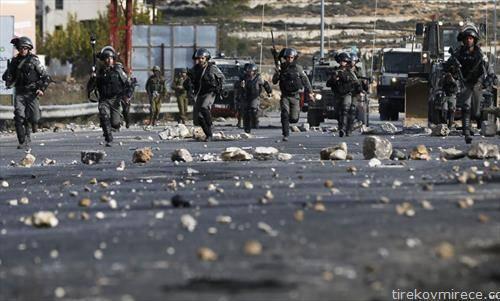 по немирите во Источен Ерусалим