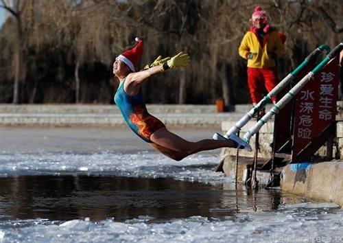 новогодишно капење во Кина