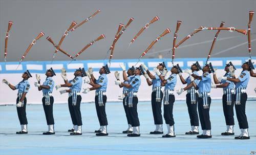 индиските војници на парада