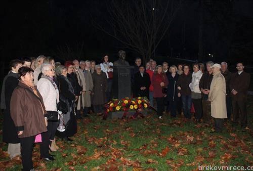 македонците му оддаваат почит на Рацин во Самобор