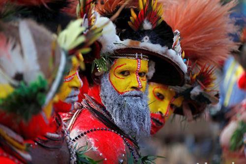 пречек на кинескиот претседател на Папуа Нова Гвинеја