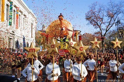 мисирка на денот на Благодарноста на парада во Њујорк