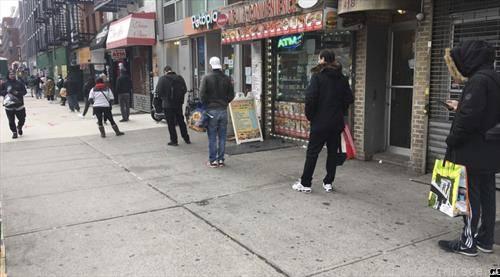 ред за супермаркет во Њујорк