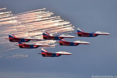 руски авио митинг во Сочи