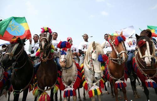 Претседателот на Еритреја во посета на соседната Етиопија