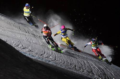 Ски крос Светскиот куп во Ароса, Швајцарија,