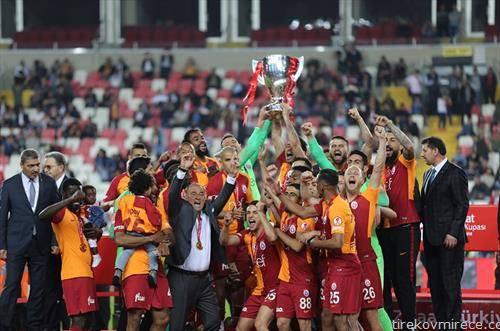 фудбалерите на Галатасарај го освоија турискиот Куп