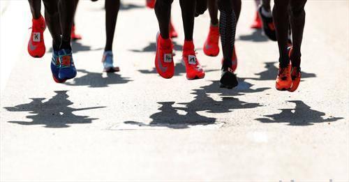 учесници на маратонот во Лондон