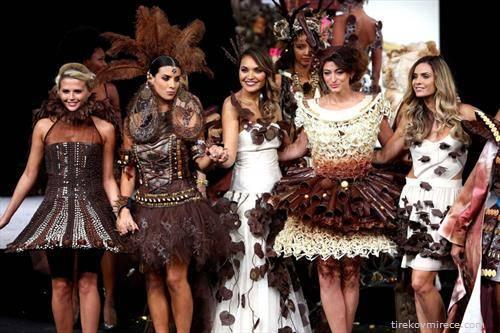 Во Брисел прошетаа модели облечени во креации направени од чоколада