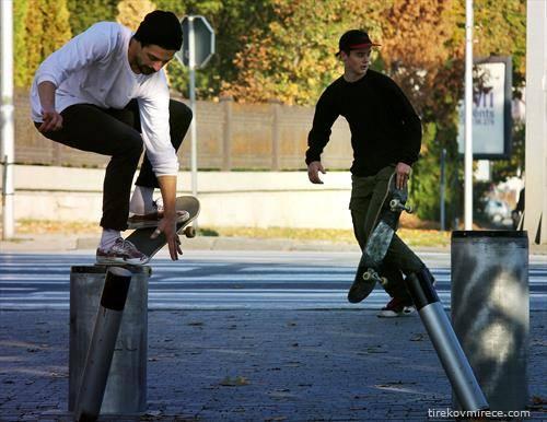 Есенски скејт момент, Скопје во Ноември
