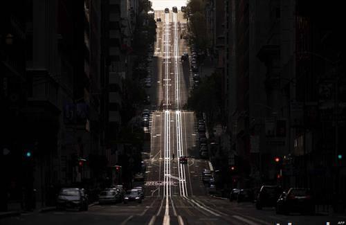 празни улици во сан франциско