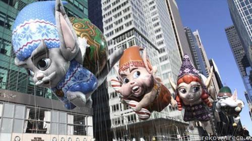 Њујорк, по повод традиционалната парада на Мејсис