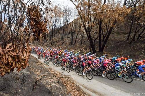 животот продолжува, пожарите во Австралија изгаснати, се одржува велосипедска трка