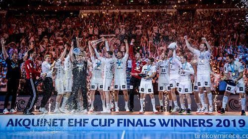 ракометарите на Кил се победници на ЕХФ Купот