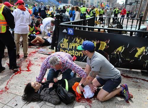 бомба на Бостонскиот маратон