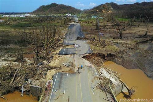 што остана по ураганот Марија во Порторико