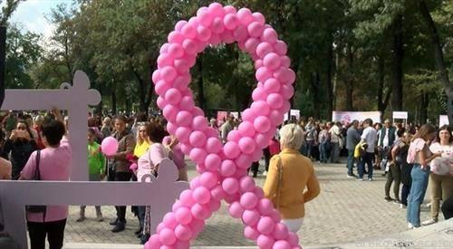 розевиот марш за подигање на свеста во борбата против ракот на дојка